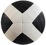 American Challenge X-Trainer Rubber Ball (Black/White, 5)