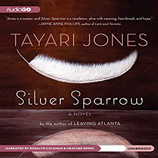 Silver Sparrow audiobook cover art