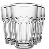 Water Glasses, Highball Glass Set Drinking Glass, Glass Tumblers Set of 6 Drinking Glasses Set of 6, Drinking Glasses of 6 Juice Large Water Glasses - 365ML (6X Glasses 365ML)