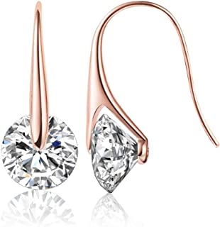 Mestige Eclipse Earrings with Swarovski Crystals for Women's