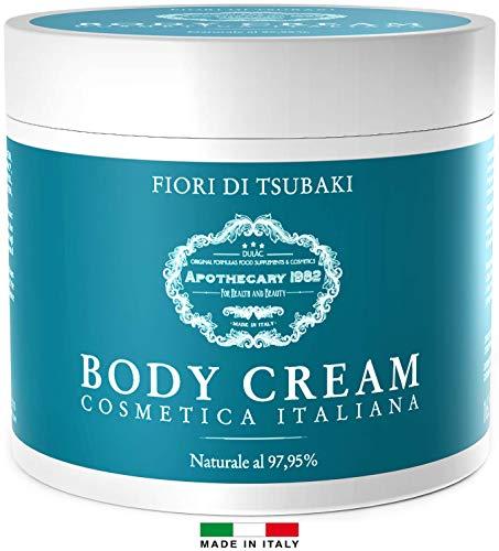 Crema Corpo Idratante Pelle Secca Dulàc 500 ml, Crema Rassodante Corpo MADE IN ITALY e...