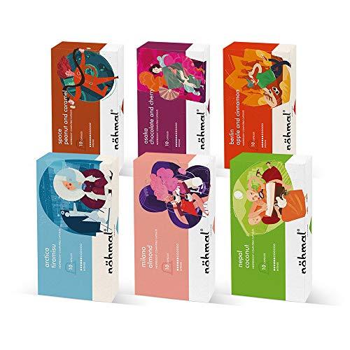Nohmal - Nohmal Pack - 10 x Cápsulas De Café Compatibles Con Nespresso (6 Paquetes)
