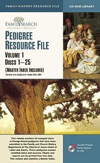 PEDIGREE RESOURCE FILE ((Master Index Included), Volume 1 / Discs 1-25)