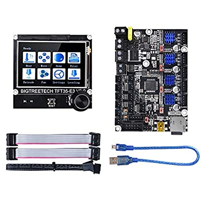 BIGTREETECH SKR Mini E3 V2.0 Control Board 32Bit New Upgrade for Creality Ender 3, with TFT35 E3 V3.0 Graphic Smart Display Controller Board