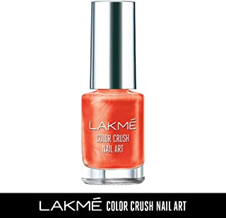 Lakme Color Crush Nailart, M8 Coral, 6 ml