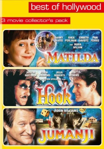 Matilda/Hook/Jumanji - Best of Hollywood (3 DVDs)