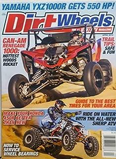 Dirt Wheels Magazine April 2019 UTV ATV Yamaha Honda Trail Tips