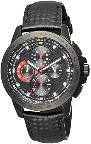 Michael Kors Men's Ryker Black Watch MK8521