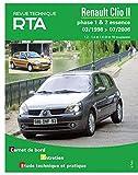 E.T.A.I - Revue Technique Automobile 116 - RENAULT CLIO II PHASE 1 - 1998 à 2006