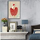 Geiqianjiumai Diseño de Arte Carteles e Impresiones Lienzo Danza línea Pintura Mural Arte salón decoración Pintura Pintura sin Marco 60x90cm