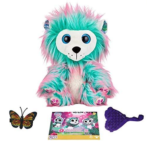 Suministros para bebés Scruff a LUVS Toy Toy Ducha Regalo Lion Lion Woodpecker Rescue Interactive Función Niños Juguetes Amor Adopción Sorpresa Caja de regalo Cumpleaños Regalos de cumpleaños CDREN Re
