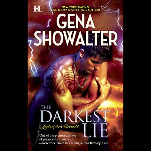 The Darkest Lie audiobook cover art