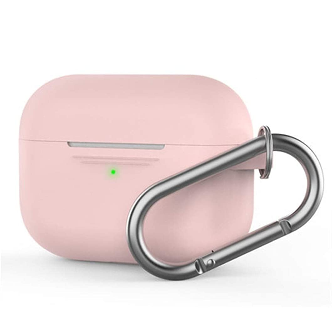 四面体ライブ爆風BIDLS 完全な保護プレミアムカバー、ワイヤレスBluetoothヘッドセット、マルチカラーの充電プロAirPodsについては、液状シリコーンケースカバー (Color : Pink)