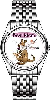 Reloj de pulsera para hombre, resistente al agua a 30 m, con fecha, reloj de pulsera deportivo, de cuarzo, regalo informa...