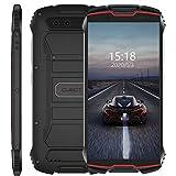 Cubot Kingkong Mini 4G Smartphone 3Go+32Go, 4' Display Dual SIM Android 9, GPS+Compass, 8MP Frontkamera/13MP étanche IP68 Imperméable Antichoc, Antipoussière Noir