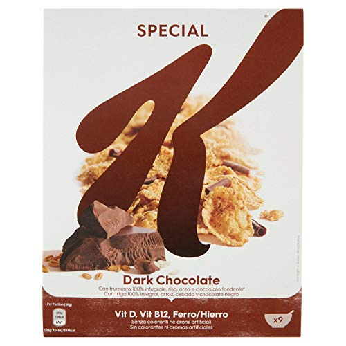 Kellogg's Special K Multicereali con Cioccolato Fondente,...