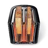 Philips HD2637/90 Toaster (7 Stufen, Brötchenaufsatz, Stopp-Taste, 1000 W, schwarz/edelstahl) - 3