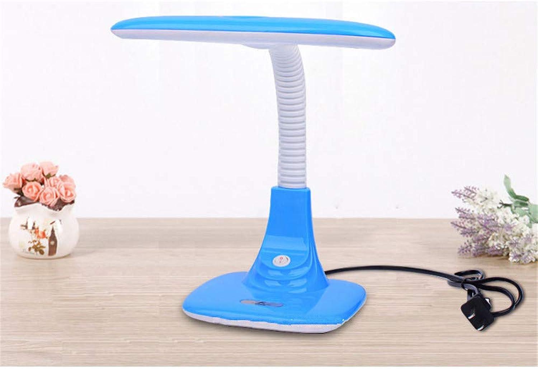 Ehime Augenschutz Tischlampe Augenschutz Tischlampe LED Stecker Radio Licht lernen kreative Augenlampe, blau B07HYYCW57 | Um Sowohl Die Qualität Der Zähigkeit Und Härte