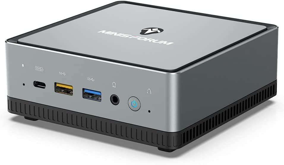 Mini Ordenador de sobremesa AMD Ryzen UM250, 16 GB de RAM + 512 GB SSD M.2 | Radeon Vega 8 Graphics | Windows 10 Pro | Dual Band WiFi 5 | 4K60Hz HDMI 2.0/ Display/USB-C | 2X RJ45 | 4X USB 3.1