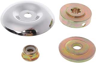 Manyao - Kit de 4 tuercas hexagonales de bloqueo para pernos M10, precio aledañable piezas accesorios para cortacésped desbrozadora