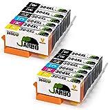 JARBO Remplacer pour HP 364XL Cartouche d'encre 5 Couleur 2Set+2Noir Compatible avec...