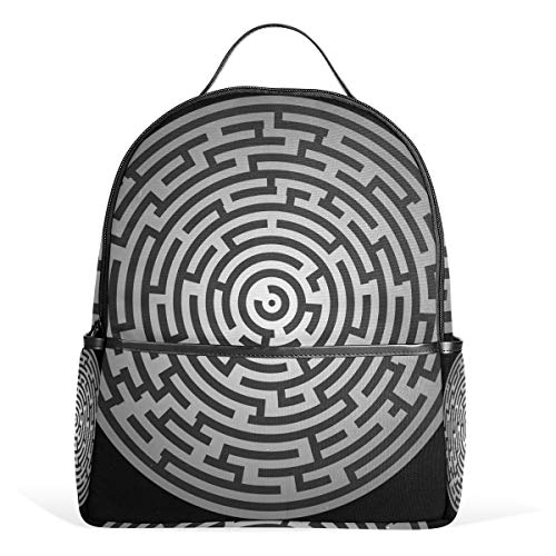 LORONA Maze Puzzle Riddle Quiz Labyrinth Mochila Escolar