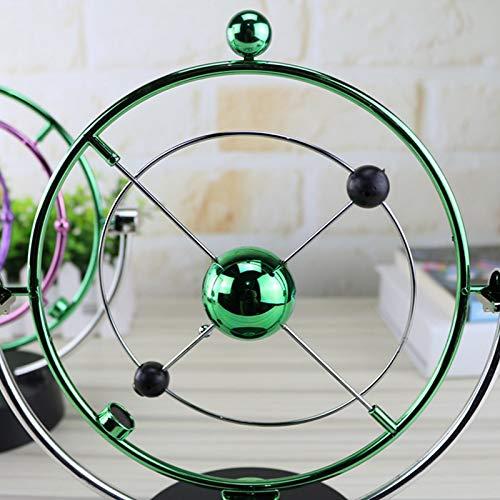 NIUPAN Magnetische swing dynamische track ambachtelijke bureau decoratie permanent evenwicht hemelbol Newton slinger woondecoratie