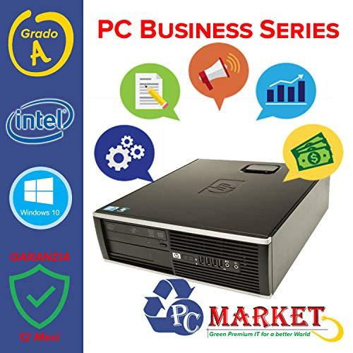 HP Compaq Pro 6300 SFF CPU i5-3470 @3,20 GHz - RAM 8 GB - HDD 320 GB - INTEL HD - DVD-RW - USB 3.0 - WIN10 PRO 64 BIT (Ricondizionato Certificato)