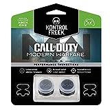 KontrolFreek Call of Duty: Modern Warfare - A.D.S. Performance Levette per Xbox One Controller | 2 alte, Concave | Trasparente/Nero