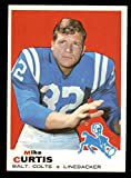 1969 Topps # 229 Mike Curtis Baltimore Colts...