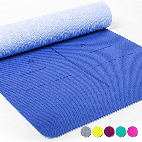 Eco-friendly, recyclable yoga mat for under $30