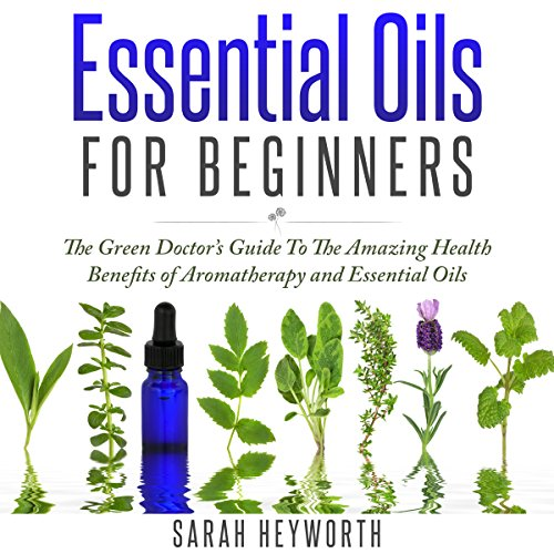 Essential Oils Recipes audiobook cover art