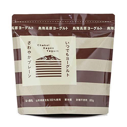 鳥海高原 プレーンヨーグルト (無糖) 900g×1袋