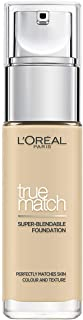 L'Oreal Paris True Match Liquid Foundation 1W Golden