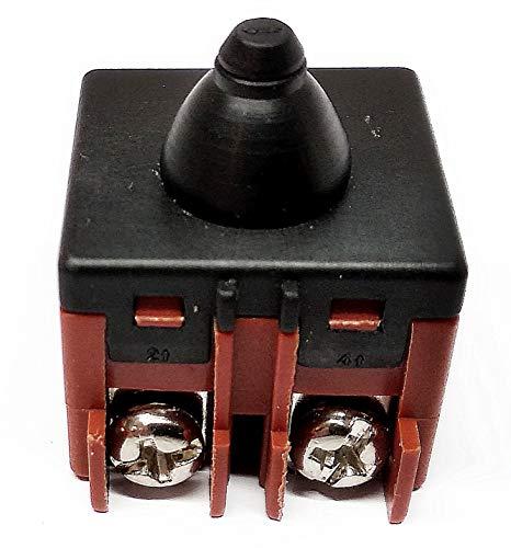 Interruptor para Bosch GEX 150, GWS 580, 660, 850, 6-100, 6-115, 7-115, 7-125, 8-125, GFF22A