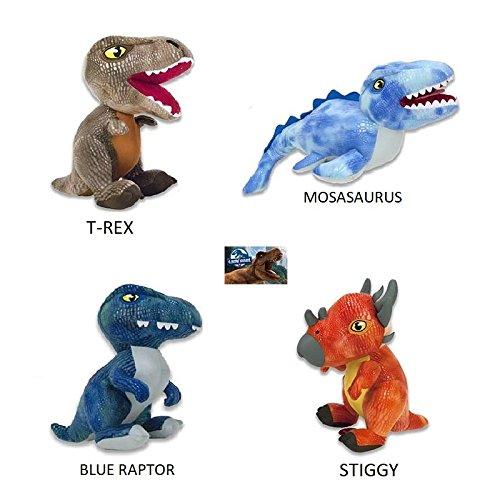 PELUCHILANDIA Dinosaurios peluche JURASSIC WORLD (Blue