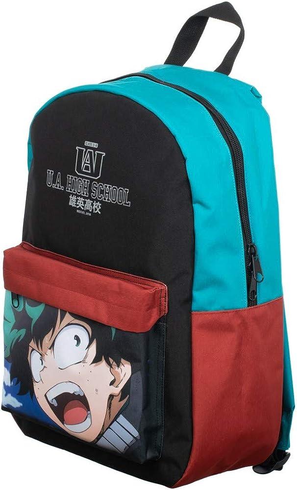 My Hero cheap Academia Sublimated Panel Oklahoma City Mall Print Backpack