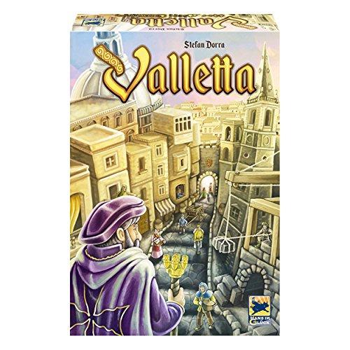Hans im Glück Schmidt Spiele 48272 - Valletta, Legespiel