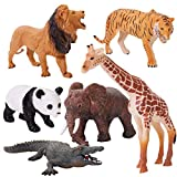 HERSITY Figuras Animales del Bosque Juguete Coleccin de Animales de la Selva Regalo Fiesta para Nios Nias