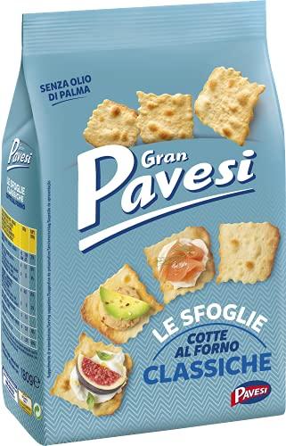 Gran Pavesi Cracker Le Sfoglie Classiche, Cotte al Forno,...