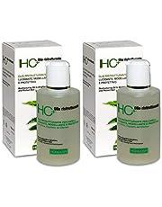 2x Specchiasol - Homocrin HC+ - Olio Ristrutturante per Capelli - 150 ml | Lucidante, modellante e protettivo | Pacchetto da 2 confezioni da 150 ml l'una + in OMAGGIO tisana Esclusiva TISANIAM