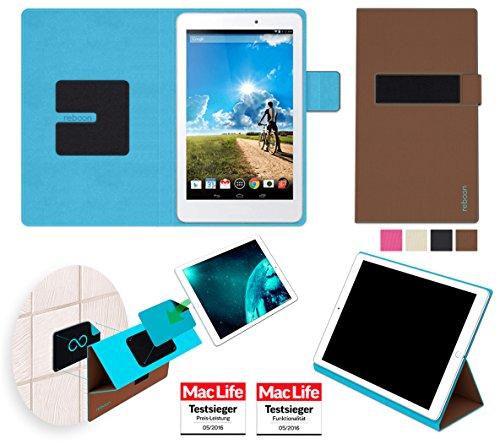 Hülle für Acer Iconia Tab 8 Tasche Cover Hülle Bumper | in Braun | Testsieger