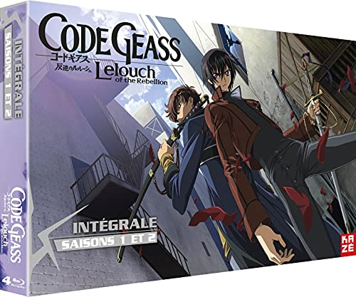 Code Geass - Lelouch of the Rebellion - Intégrale Saisons 1 et 2 [Francia] [Blu-ray]