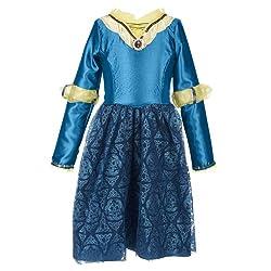 Disney Princess Merida's Adventure Kids Costume from Amazon Prime