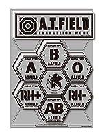 A.T.FIELD ステッカー シートタイプ 血液型 ATF028R 反射素材 エヴァンゲリオン