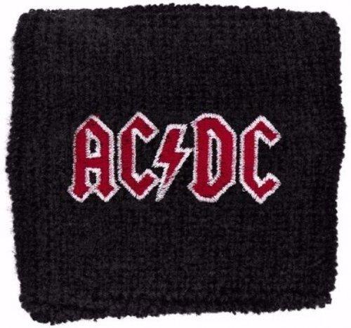 AC/DC zweetband rood logo polsband armband