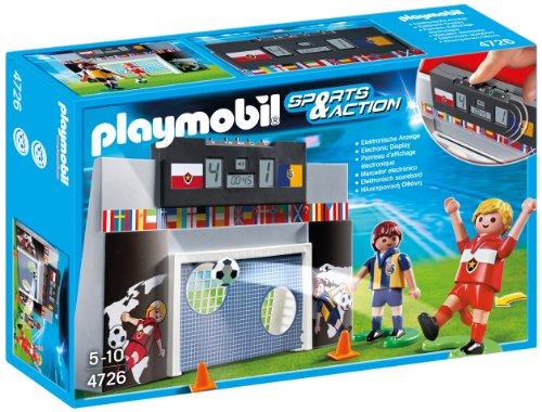 Playmobil Fútbol - Juego de puntería con Marcador electró