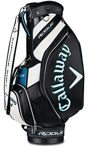 Callaway Golf 2018 Rogue Staff Cart Bag, Black/ White, Mini