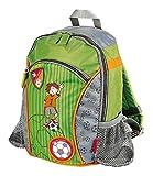 SIGIKID 23769 Rucksack klein Killy Keeper Mädchen und Jungen Kinderrucksack empfohlen ab 2 Jahren grün/grau