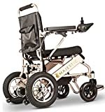 Ephesus L5 | New Model | Ultra-Lightweight (40lbs) Portable Mobility Electric Motorized Wheelchair, Easy to Carry, 360° Joystick Control | Lithium Battery Included | (Coffee Holder)